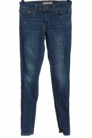 Levi's Hoge taille jeans blauw casual uitstraling