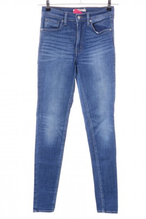 "Levi's Hoge taille jeans ""Mile High Super Skinny"" blauw"