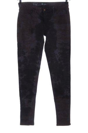 Levi's Jeansy z wysokim stanem czarny-jasnoszary Abstrakcyjny wzór