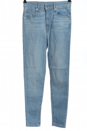 Levi's Jeansy z wysokim stanem niebieski W stylu casual