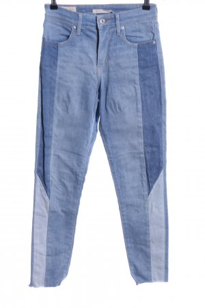 "Levi's Hoge taille jeans ""High Rise Skinny"" blauw"