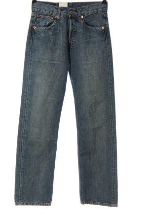 Levi's Jeans taille haute bleu style décontracté