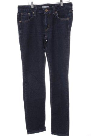 Levi's High Waist Jeans dunkelblau Casual-Look