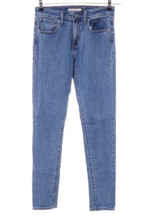 Levi's High Waist Jeans blau Casual-Look