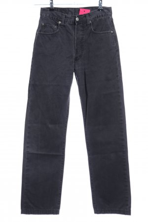 Levi's Hoge taille jeans zwart casual uitstraling