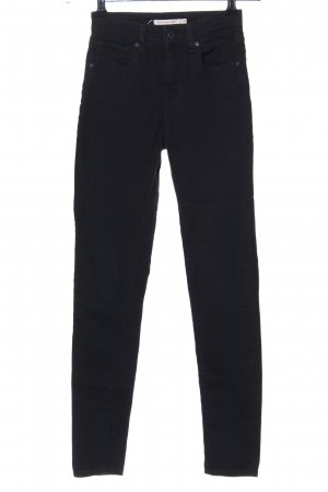 Levi's High Waist Jeans schwarz Casual-Look