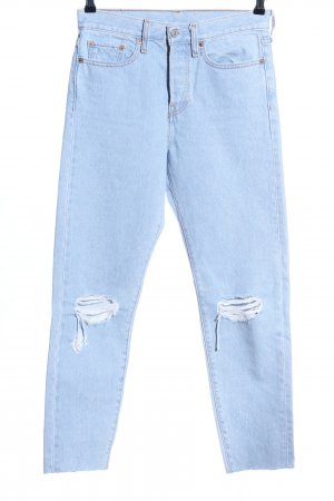 Levi's High Waist Jeans türkis Casual-Look