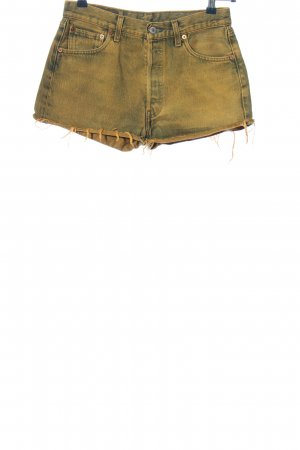 "Levi's High-Waist-Shorts ""501"" hellorange"
