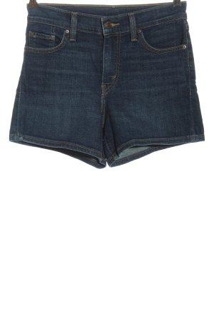 Levi's Pantaloncino a vita alta blu stile casual