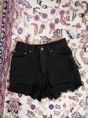 Levi's Pantaloncino a vita alta nero