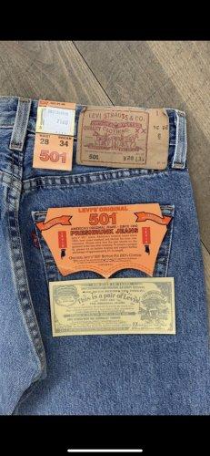 Levi's Jeansy z prostymi nogawkami niebieski neonowy