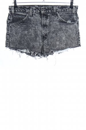 Levi's Hot Pants hellgrau meliert Casual-Look
