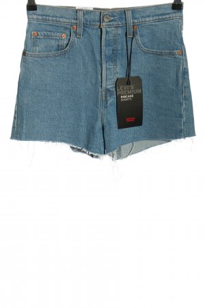 Levi's Hot Pants blue casual look
