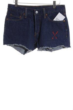 Levi's Pantalón corto azul oscuro look Street-Style