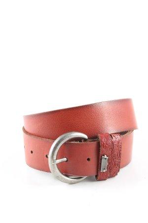 Levi's Cinturón de cadera rojo look casual