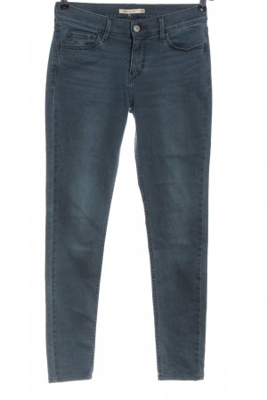 Levi's pantalón de cintura baja azul look casual