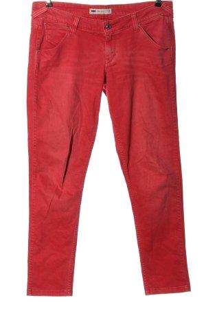 Levi's Jeans vita bassa rosso stile casual