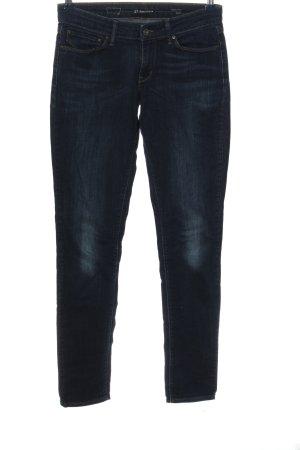 Levi's Jeans vita bassa blu stile casual
