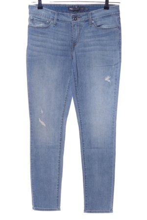 """Levi's Low Rise jeans """"Demi Curve"""" blauw"""