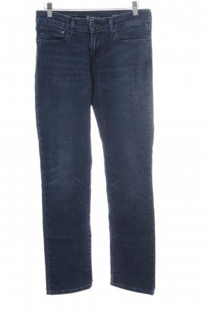 Levi's Low Rise jeans donkerblauw casual uitstraling