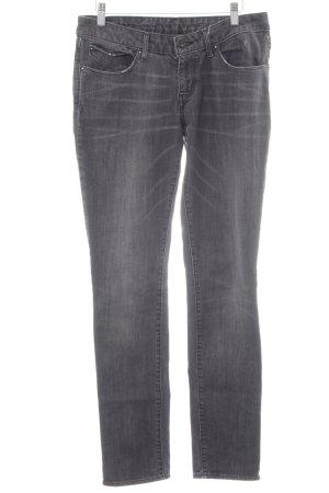 Levi's Low Rise jeans donkergrijs tweedehandse uitstraling