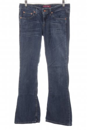 Levi's Low Rise jeans staalblauw casual uitstraling
