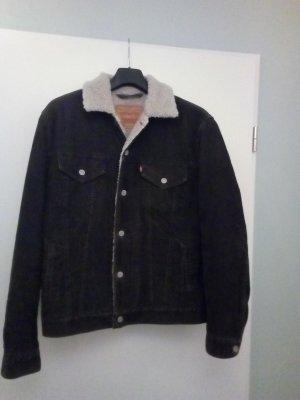 LEVI'S Jacke Boyfriend Style Street Style Cord Gefüttert Übergangsjacke Jacke