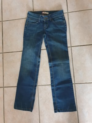 Levi's Jeansy z prostymi nogawkami niebieski Bawełna