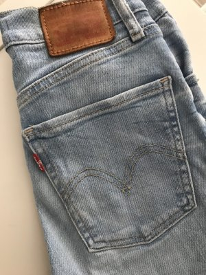Levi's Jeansy z wysokim stanem błękitny