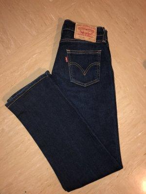 Levi's Jeans cigarette bleu foncé