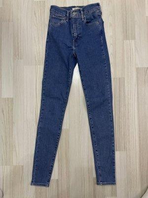 Levi's Jeans skinny bleu foncé-bleu