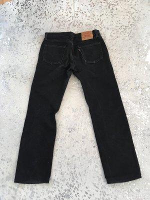 Levi's Jeansy z prostymi nogawkami czarny