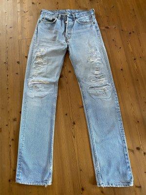 Levi's Jeansy z prostymi nogawkami błękitny Bawełna