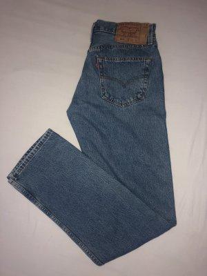 Levis Luźne spodnie niebieski