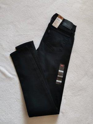 Levi's Jeans 710 Super Skinny 28 32 M 38 schwarz NEU
