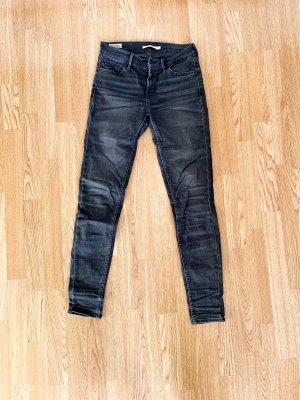 Levi's Pantalone a sigaretta grigio scuro