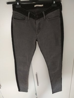 Levi's Jeans skinny nero-grigio