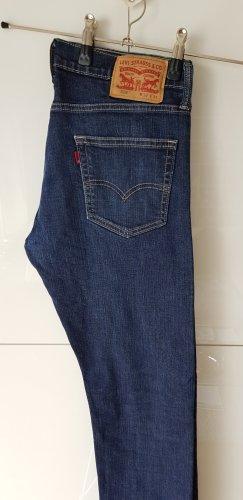 Levi's Jeans - Dunkel blau - boyfriend Schmitt
