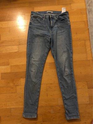 Levis High Waist Jeans azure