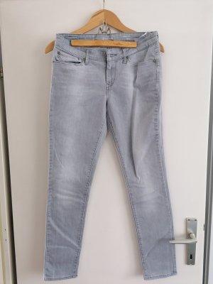 Levi's Jeansy z prostymi nogawkami jasnoszary