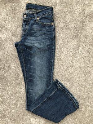 Levi's Jeansowe spodnie dzwony niebieski