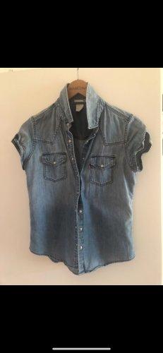 Levi's Chemise en jean bleu