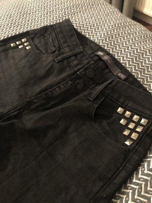 Levi's Jeans high rise skinny schwarz