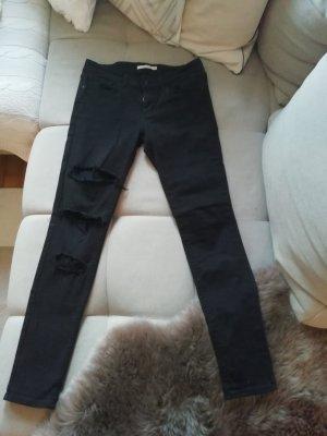 Levi's Pantalone a sigaretta nero