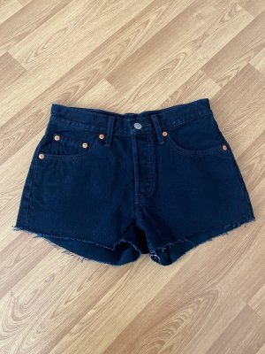 Levi's Jeans Shorts dunkelblau W24