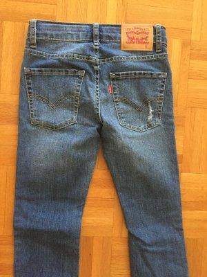 Levi's Jeans skinny blu acciaio