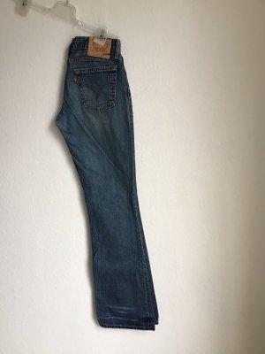 Levi's Jeansy biodrówki niebieski-ciemnoniebieski