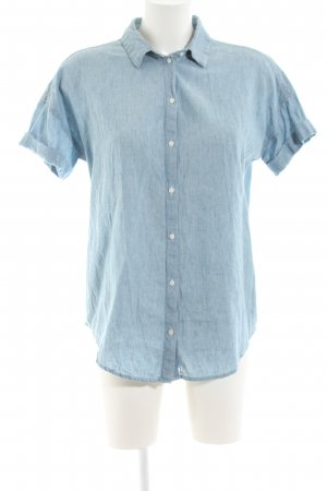 Levi's Jeansbluse blau meliert Casual-Look