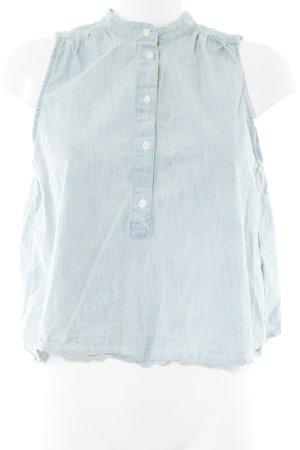 Levi's Jeansbluse hellblau Casual-Look