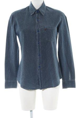 Levi's Spijkershirt blauw casual uitstraling